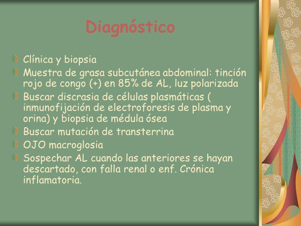 Diagnóstico Clínica y biopsia