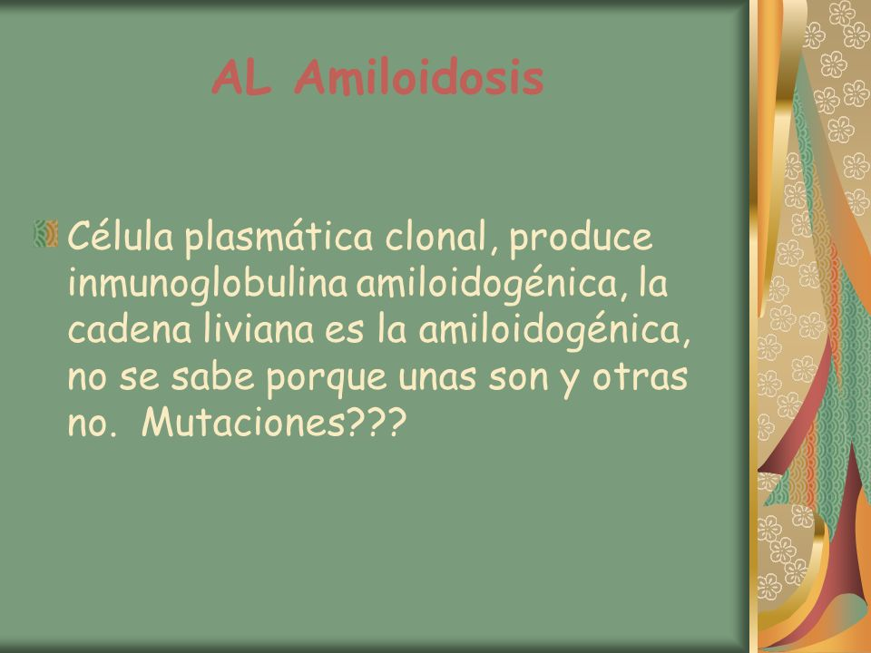 AL Amiloidosis