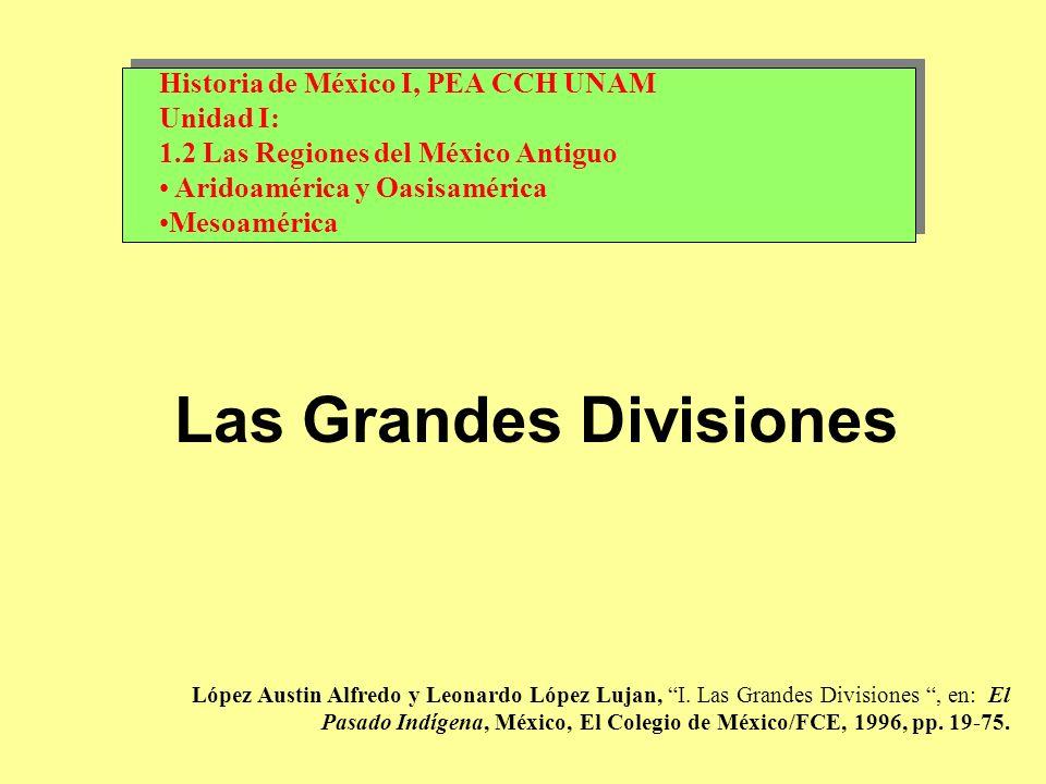 Las Grandes Divisiones