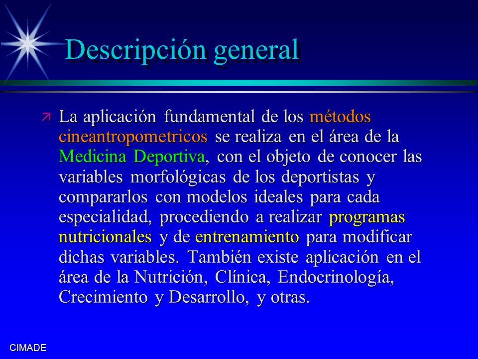Descripción general