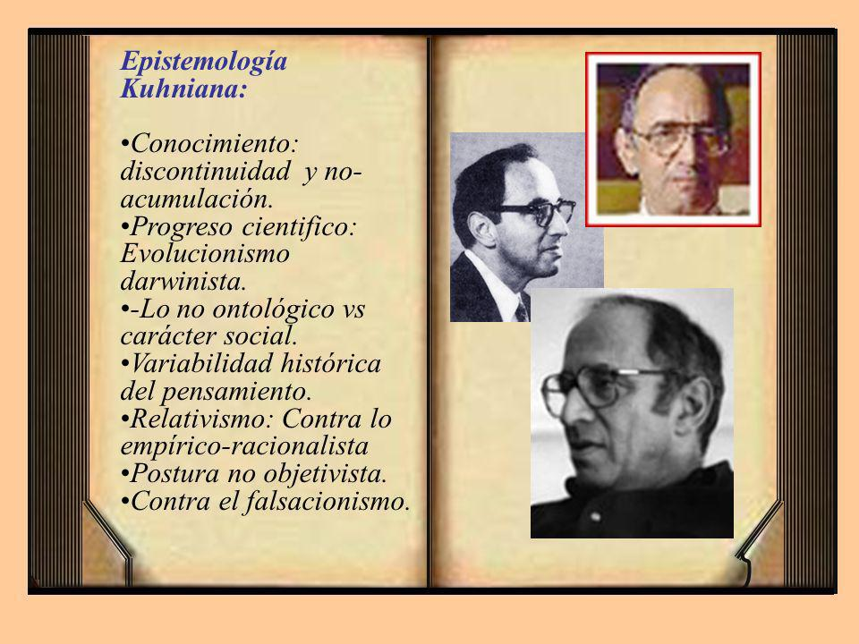 Epistemología Kuhniana:
