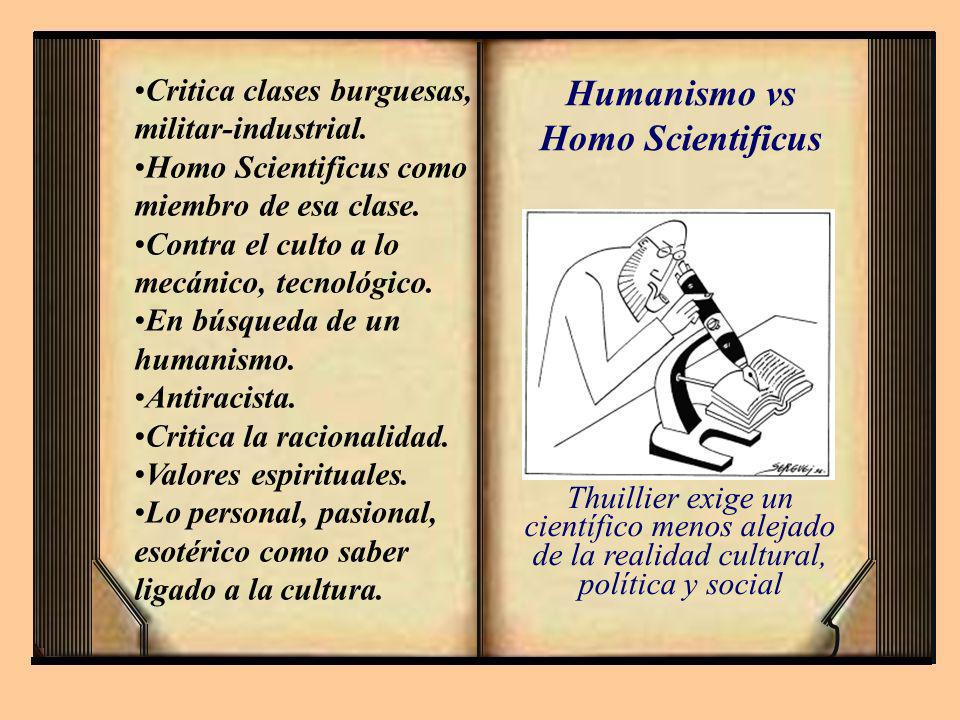 Humanismo vs Homo Scientificus