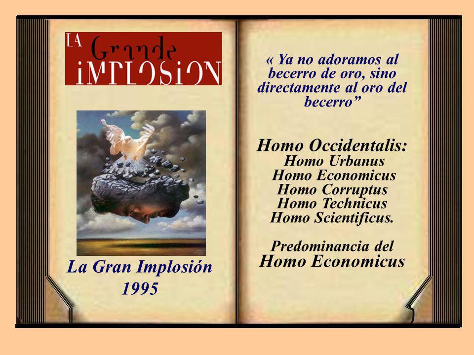 Homo Economicus Homo Corruptus Predominancia del Homo Economicus