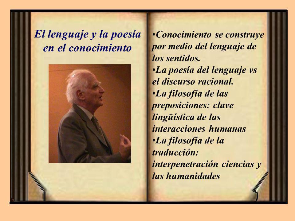 El lenguaje y la poesía en el conocimiento