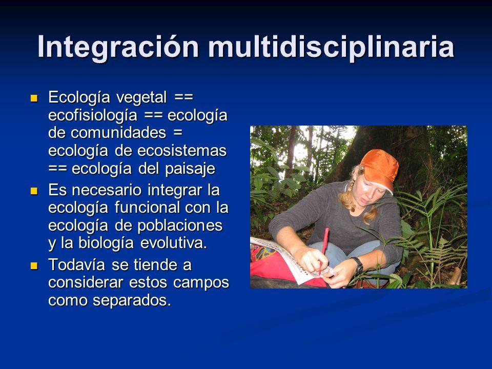 Integración multidisciplinaria