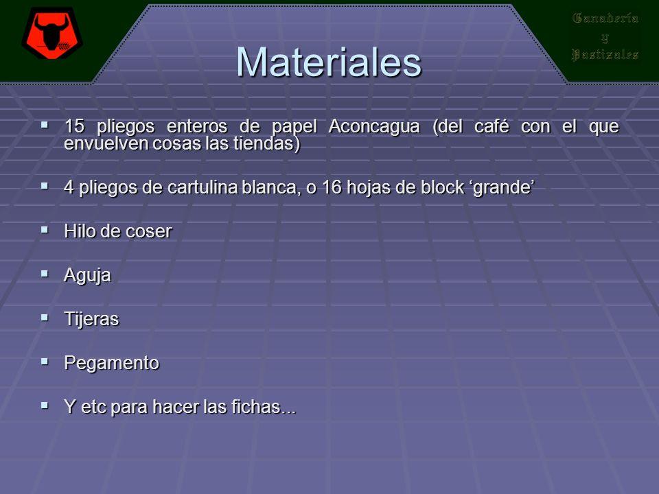 Materiales 15 pliegos enteros de papel Aconcagua (del café con el que envuelven cosas las tiendas)