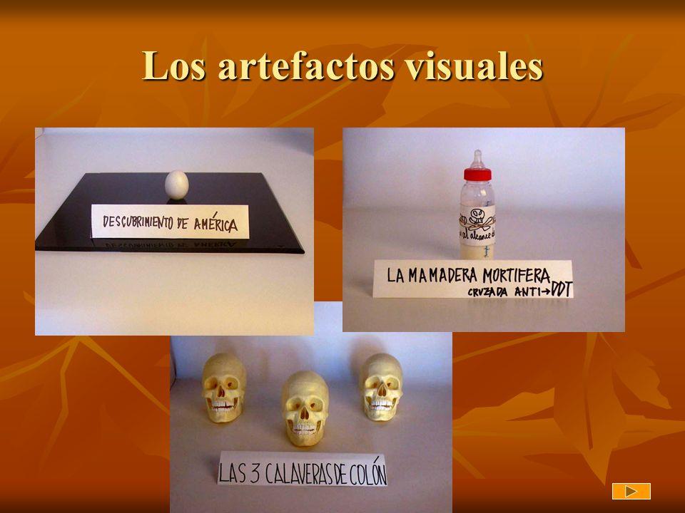 Los artefactos visuales