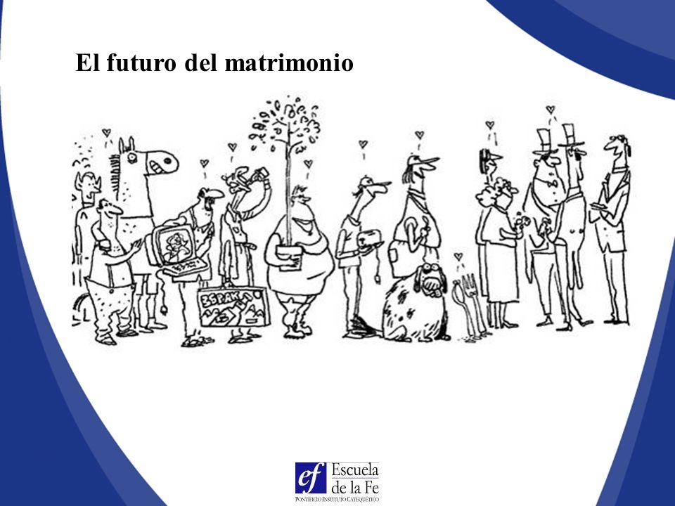 El futuro del matrimonio