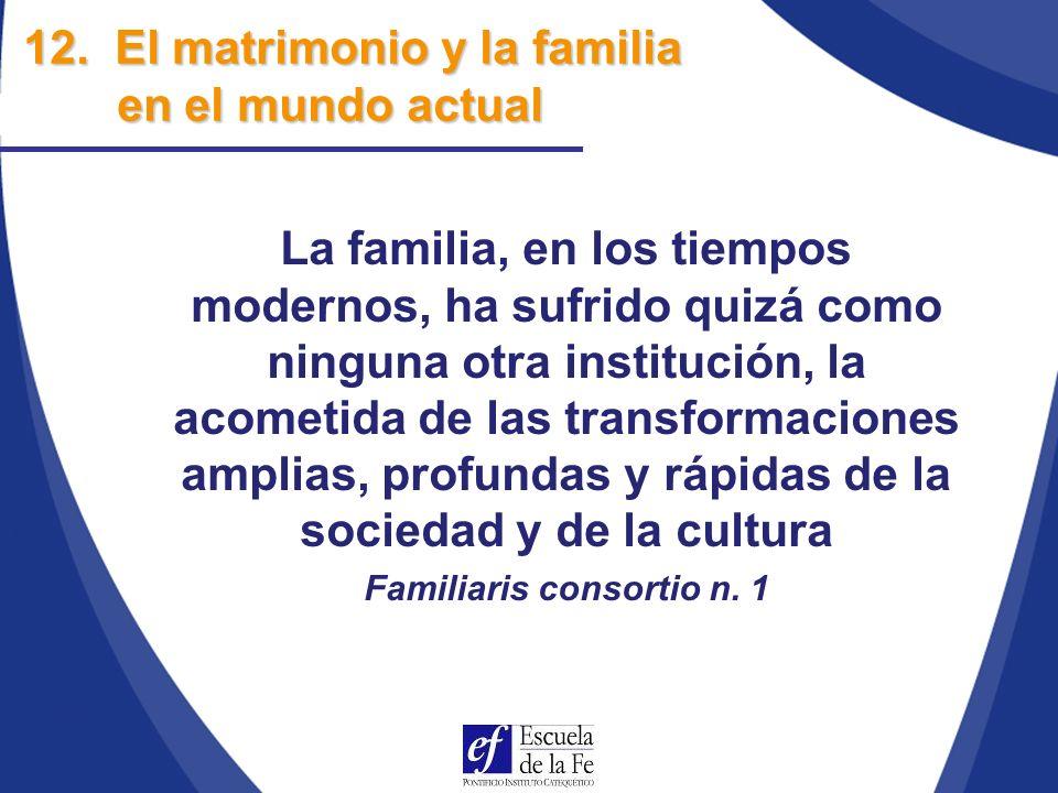 Familiaris consortio n. 1