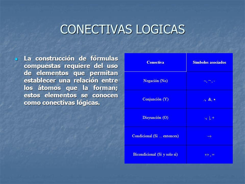 CONECTIVAS LOGICAS