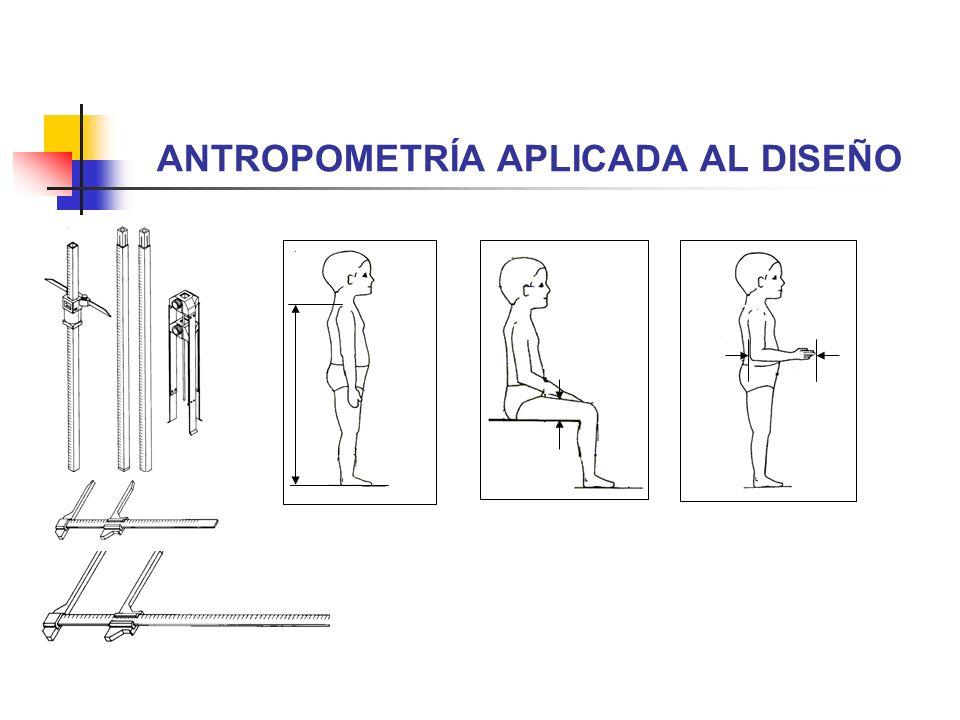 antropometr a aplicada al dise o ppt descargar