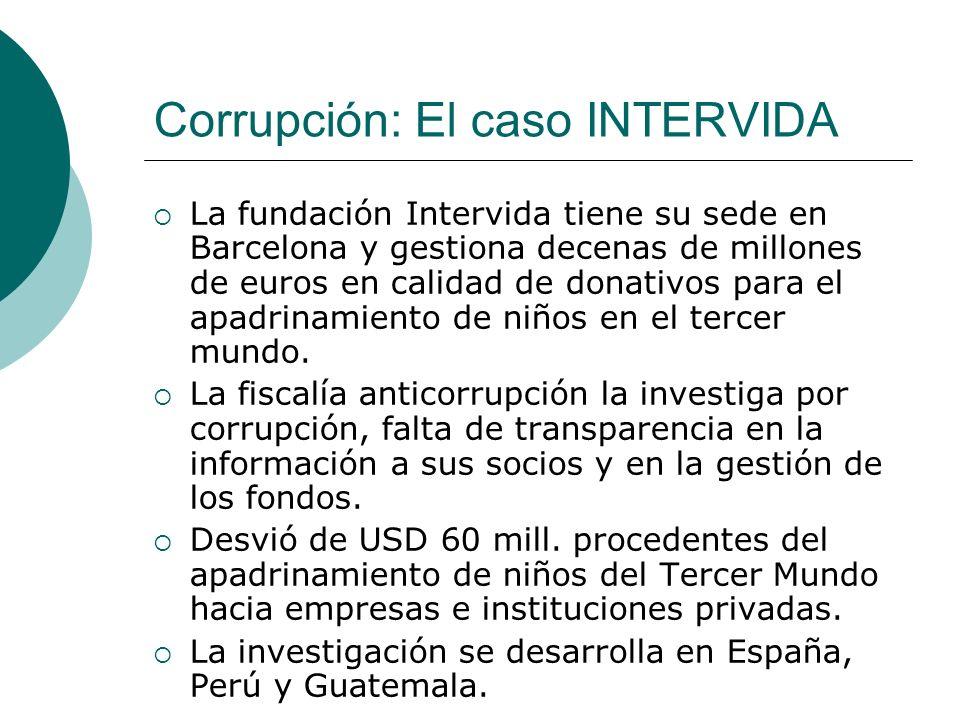 Corrupción: El caso INTERVIDA