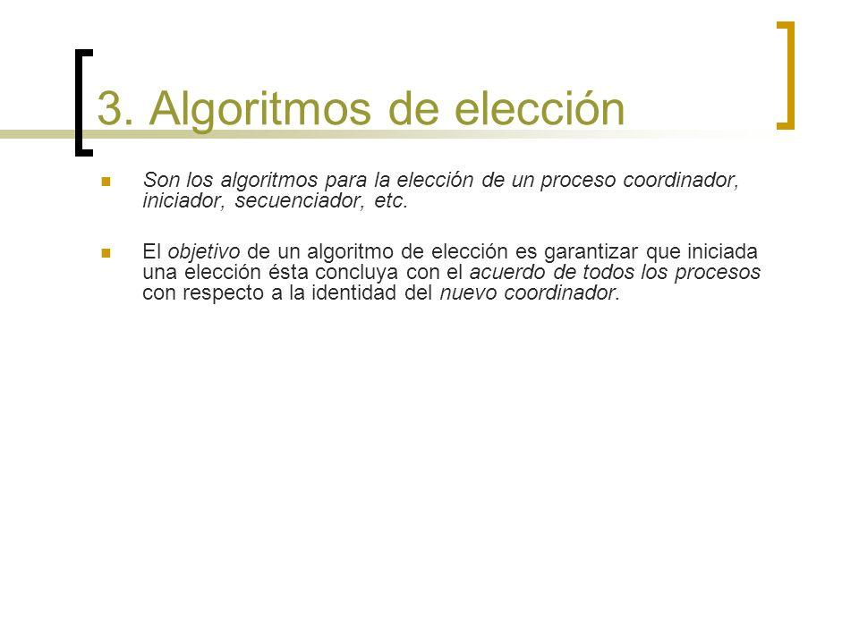 3. Algoritmos de elección