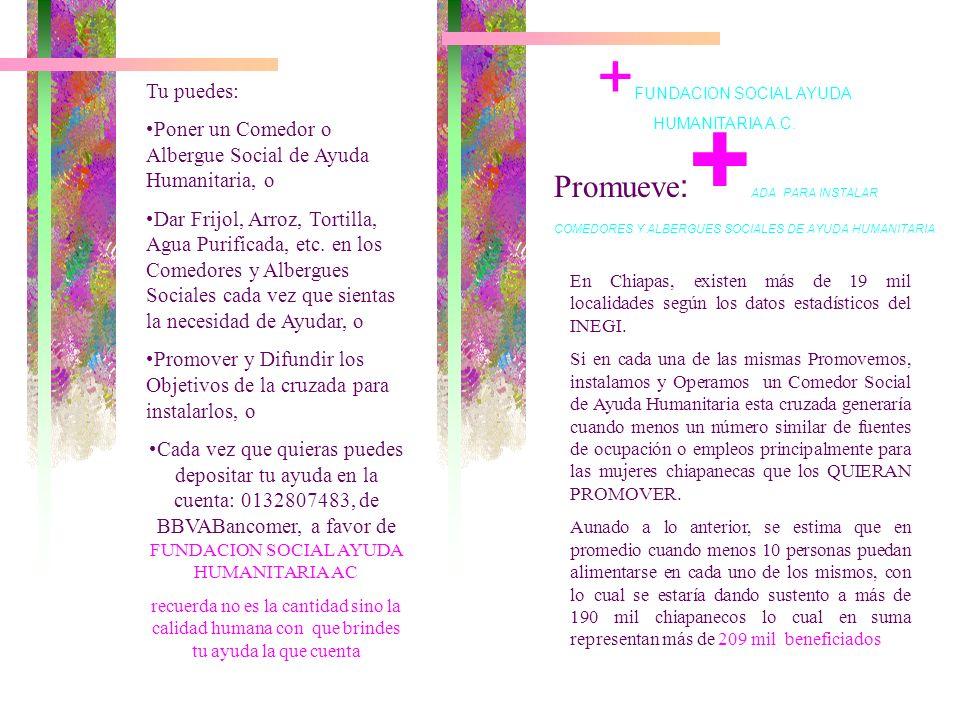 +FUNDACION SOCIAL AYUDA HUMANITARIA A.C.