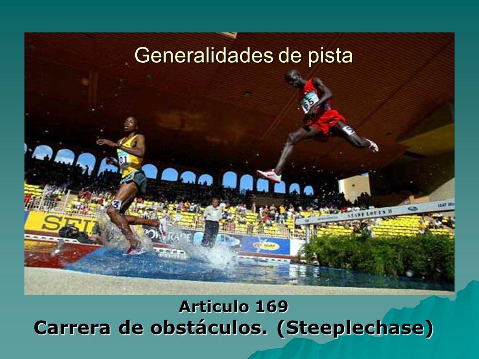 Carrera de obstáculos. (Steeplechase)