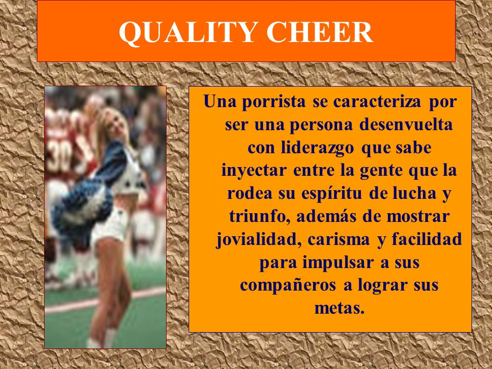 QUALITY CHEER