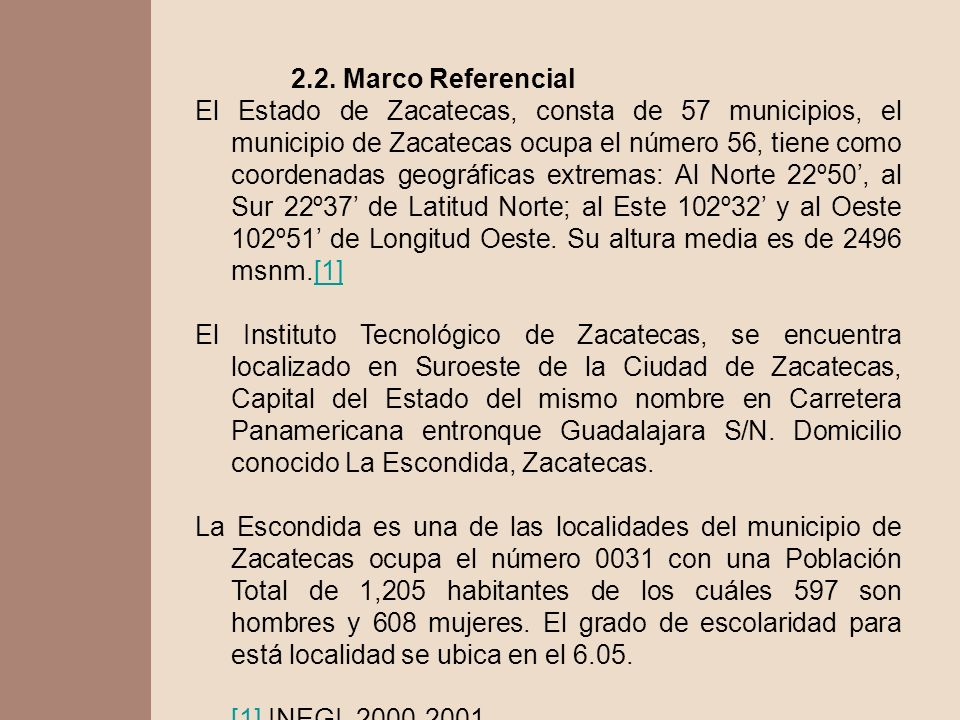 2.2. Marco Referencial