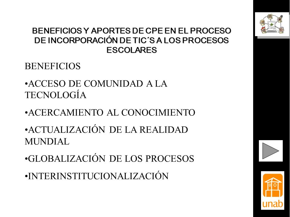 ACCESO DE COMUNIDAD A LA TECNOLOGÍA