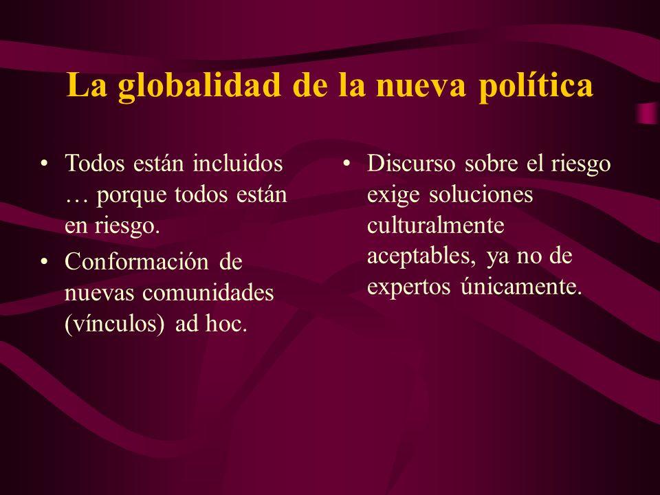 La globalidad de la nueva política