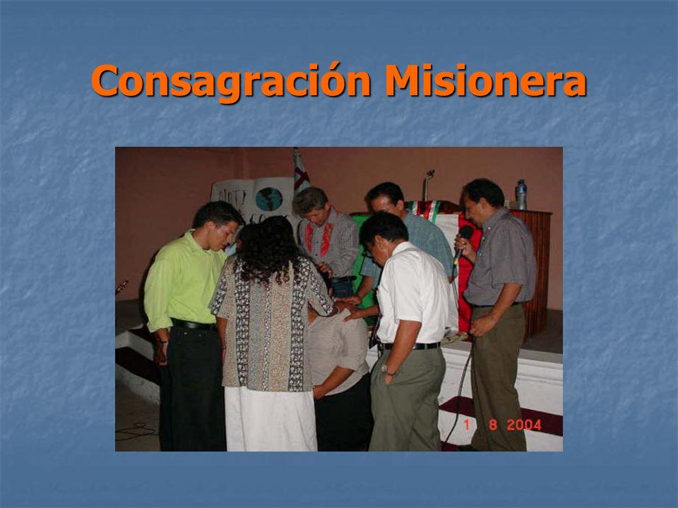 Consagración Misionera