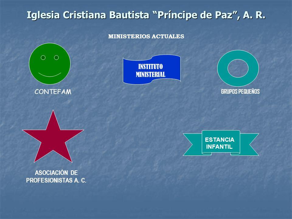Iglesia Cristiana Bautista Príncipe de Paz , A. R.