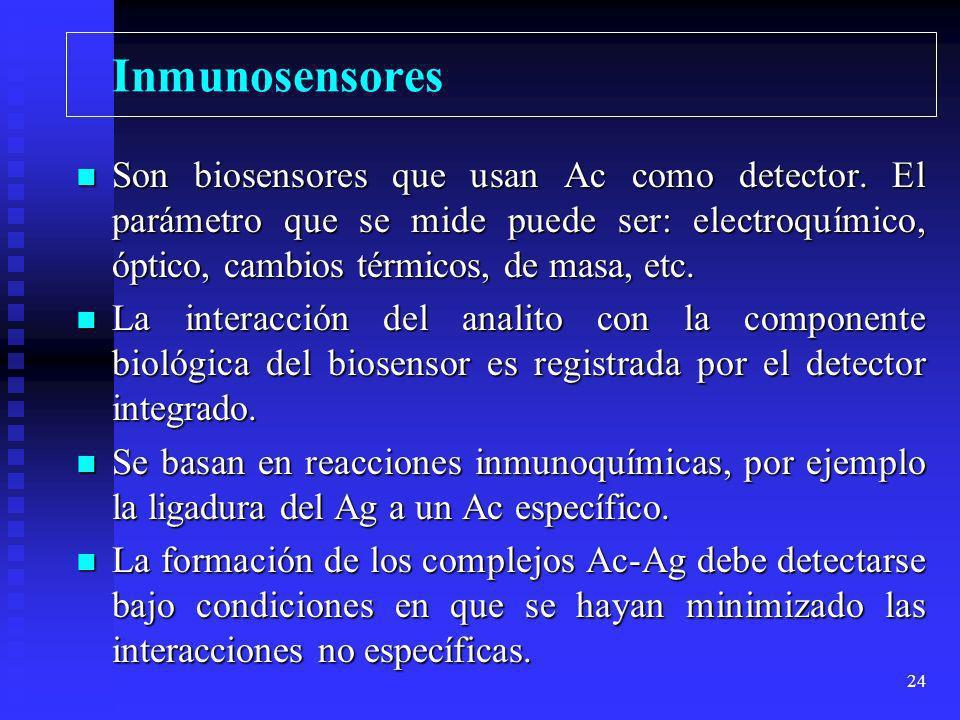 Inmunosensores