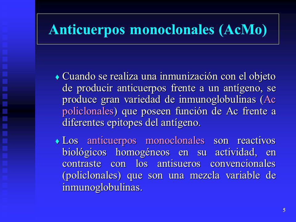 Anticuerpos monoclonales (AcMo)