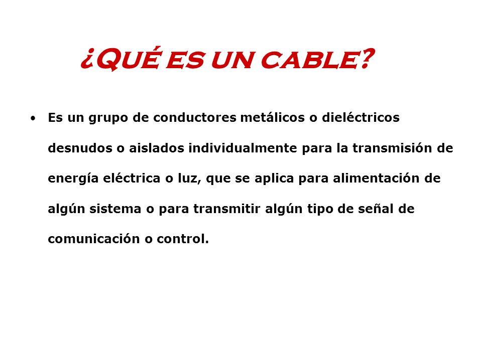 ¿Qué es un cable