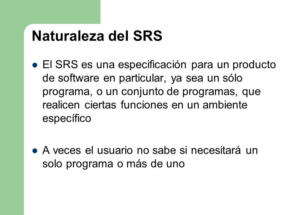 Naturaleza del SRS