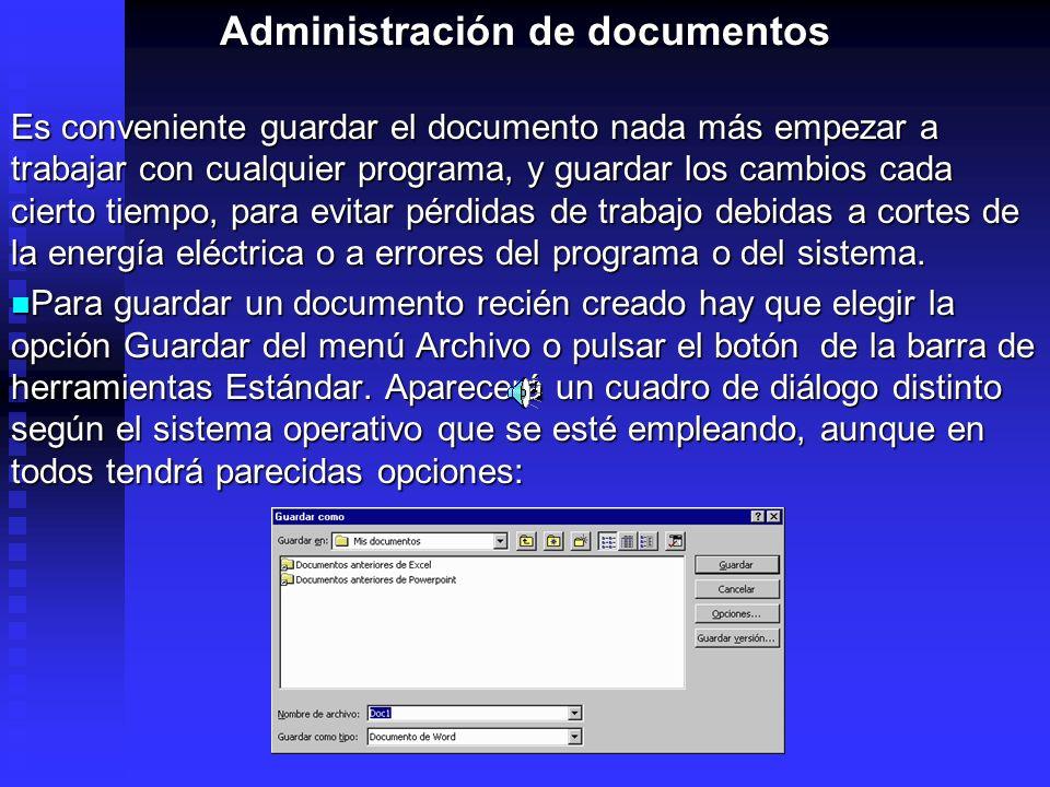 Administración de documentos
