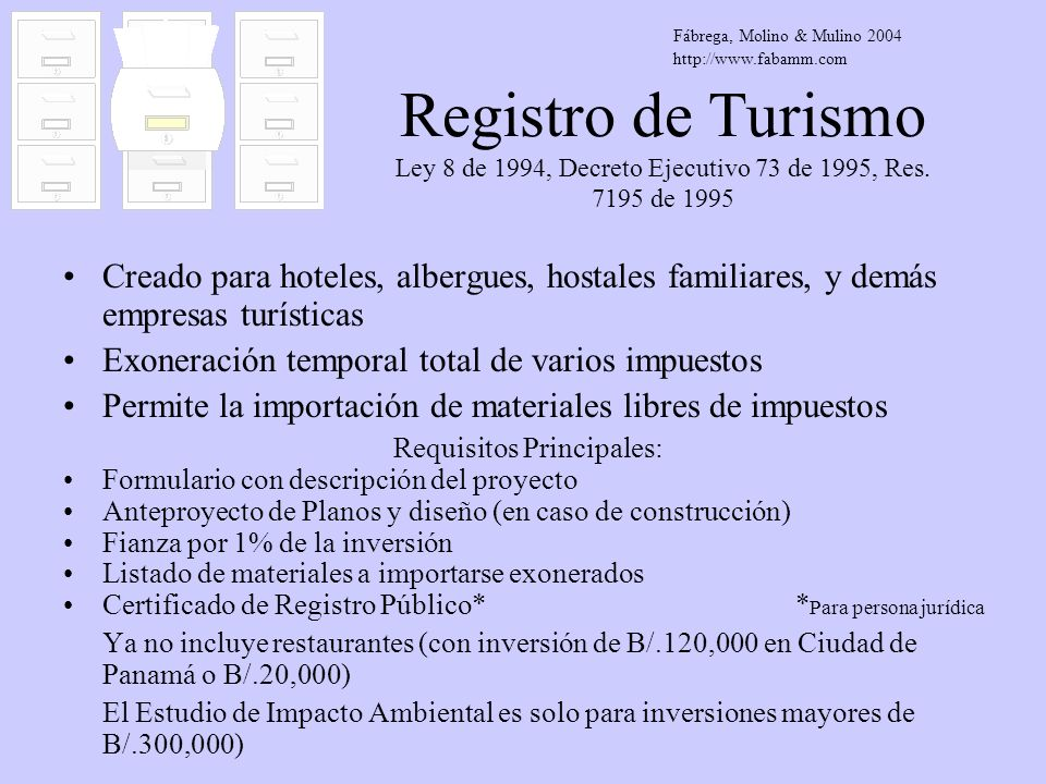 Requisitos Principales: