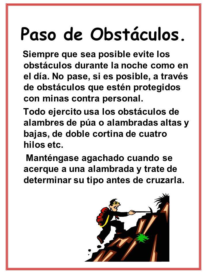 Paso de Obstáculos.