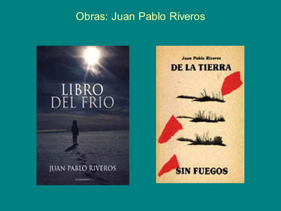 Obras: Juan Pablo Riveros