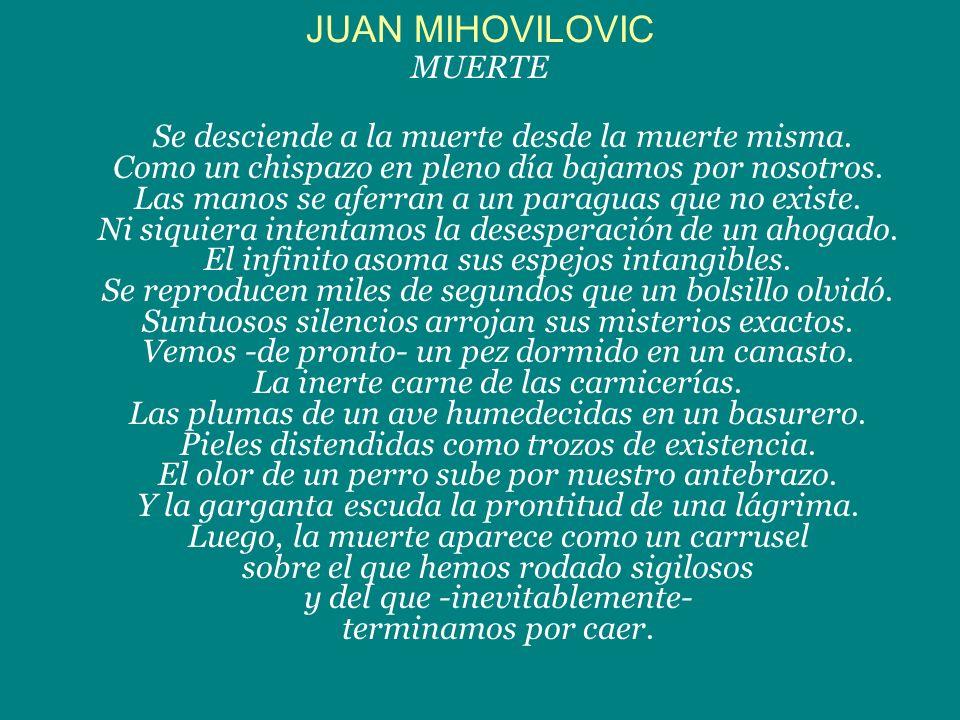 JUAN MIHOVILOVIC MUERTE