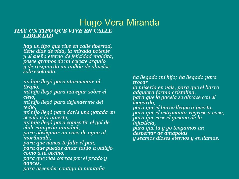 Hugo Vera Miranda
