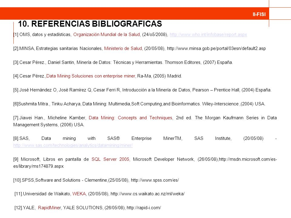 10. REFERENCIAS BIBLIOGRAFICAS