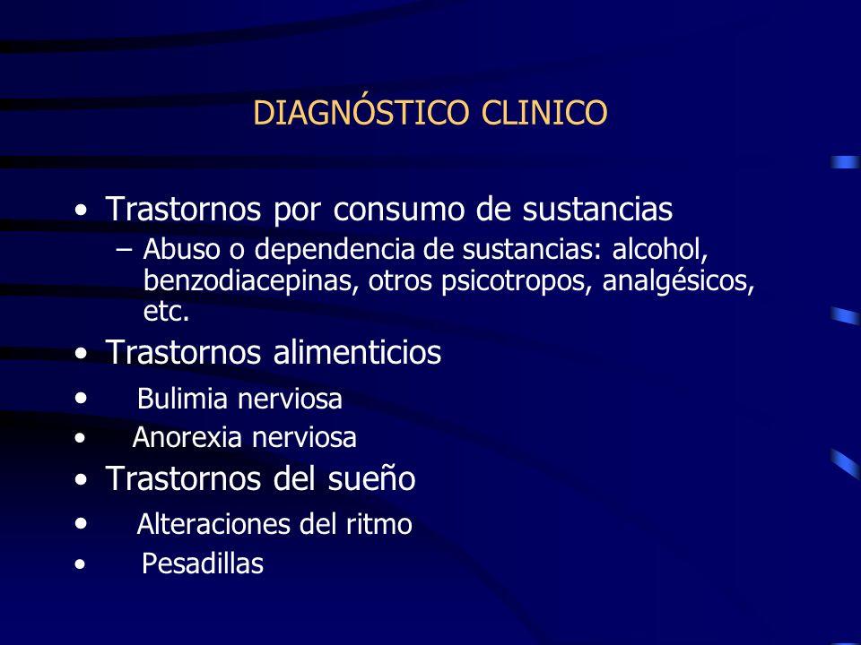 Trastornos por consumo de sustancias