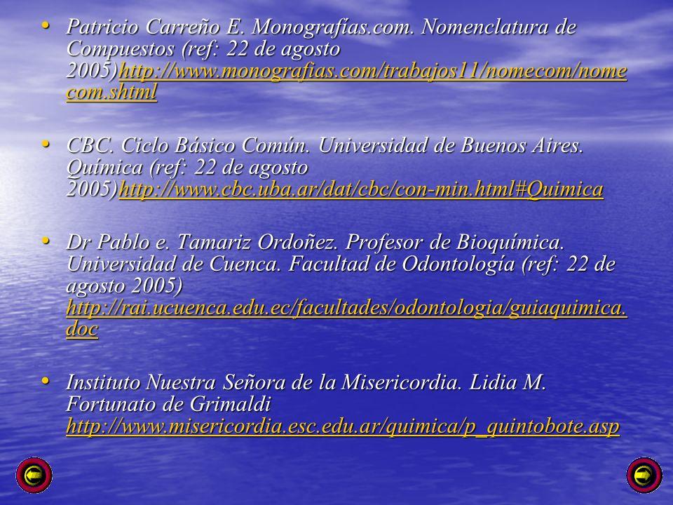 Patricio Carreño E. Monografías. com