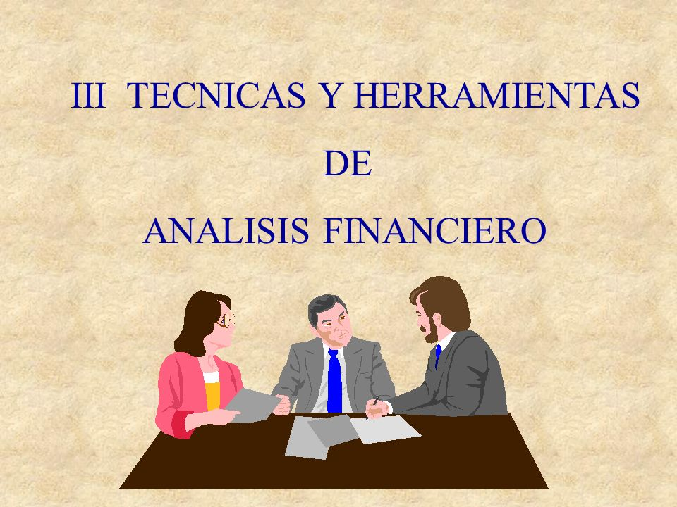 III TECNICAS Y HERRAMIENTAS