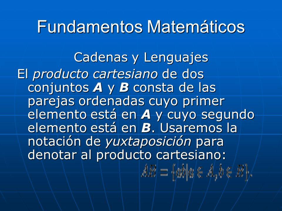 Fundamentos Matemáticos