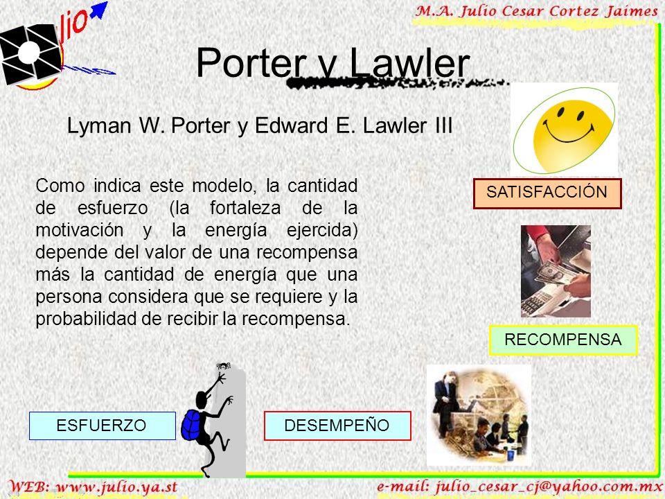 Porter y Lawler Lyman W. Porter y Edward E. Lawler III