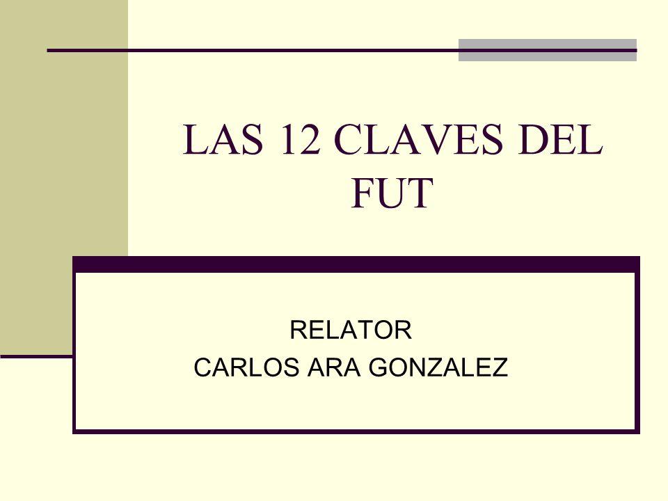 RELATOR CARLOS ARA GONZALEZ