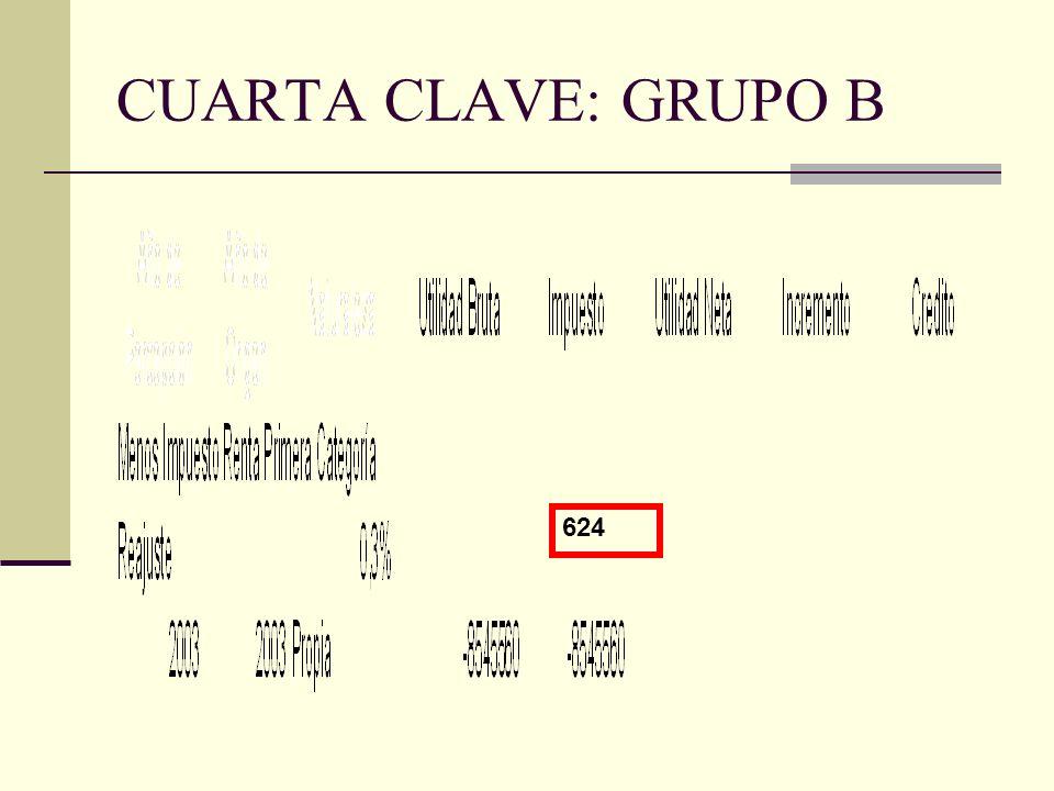 CUARTA CLAVE: GRUPO B 624