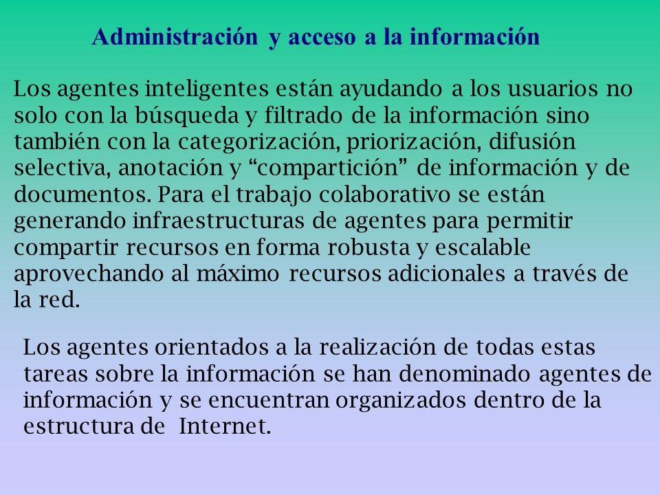 Administración y acceso a la información