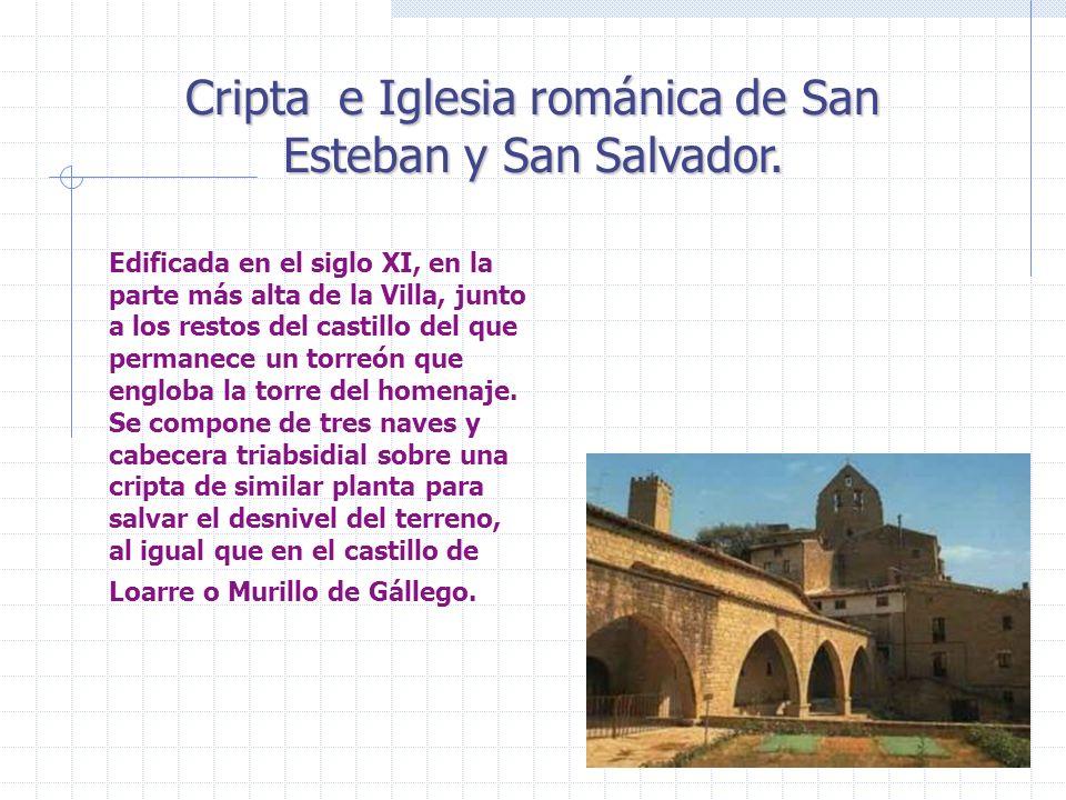 Cripta e Iglesia románica de San Esteban y San Salvador.