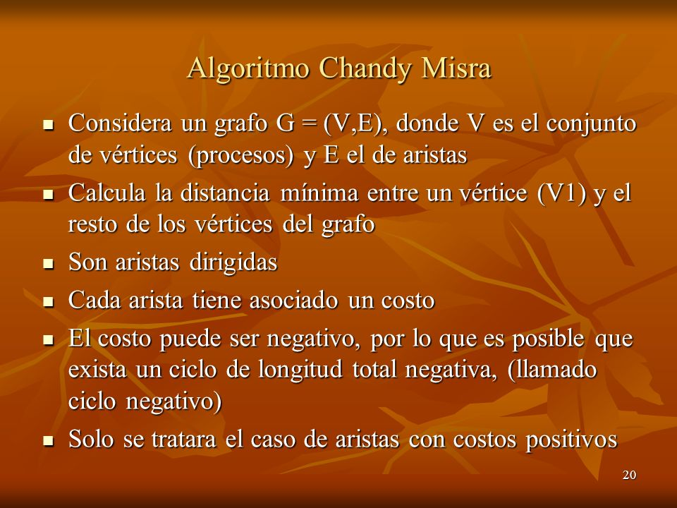 Algoritmo Chandy Misra