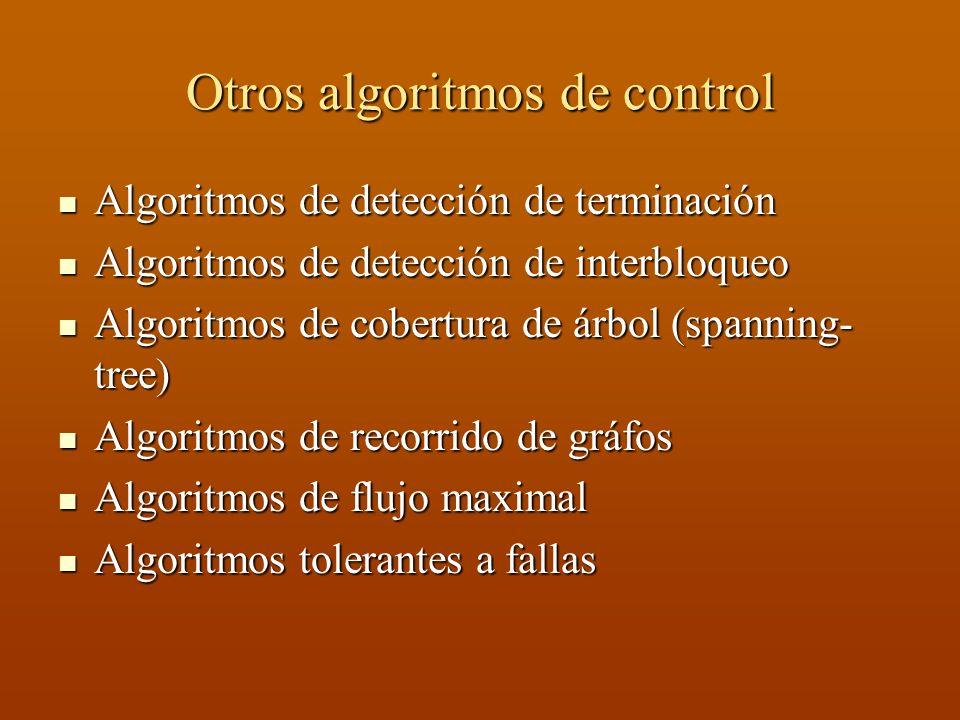 Otros algoritmos de control
