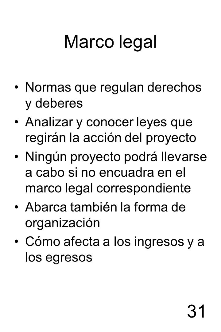 Marco legal Normas que regulan derechos y deberes