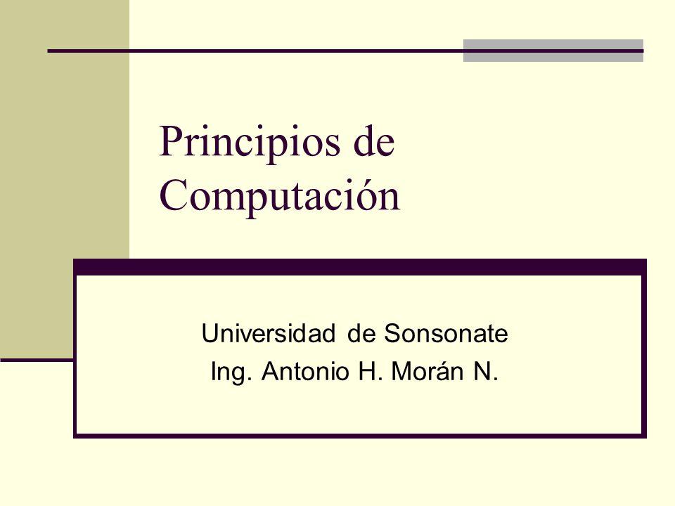 Principios de Computación