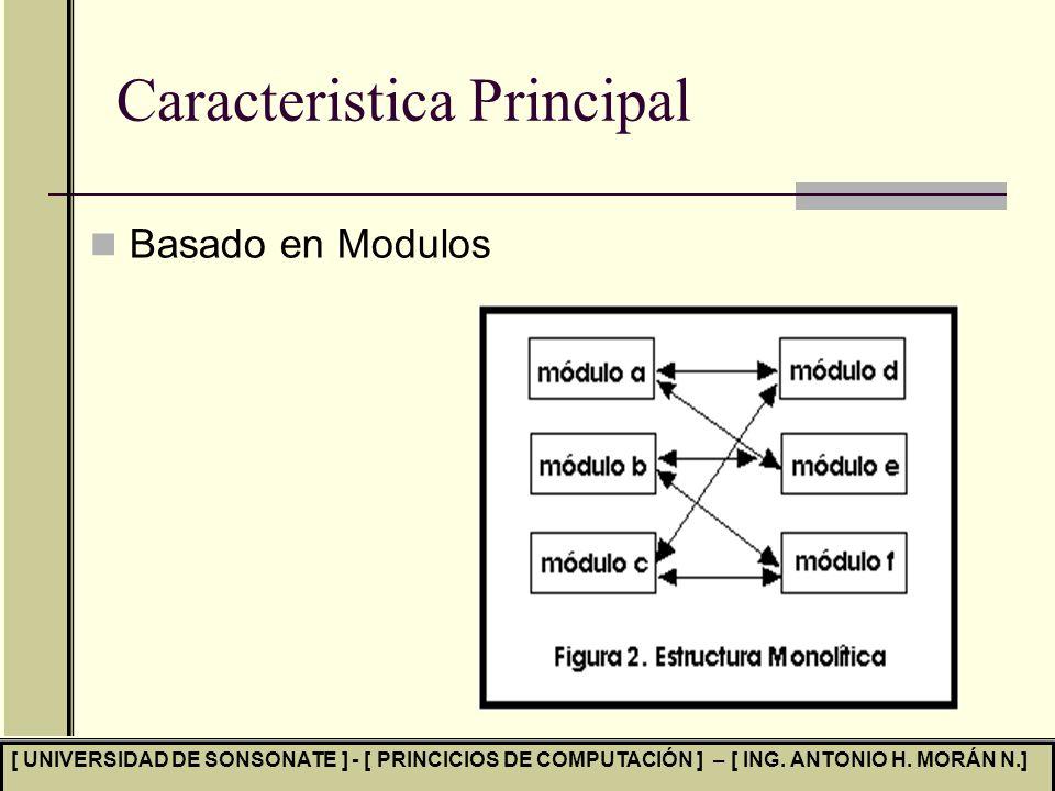 Caracteristica Principal